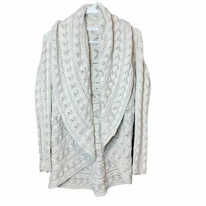 CABI 100% cotton knitted cardigan